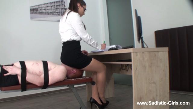 Sadistic-Girls - A Day As Secretary`S Ass Slave - Volume II 00004