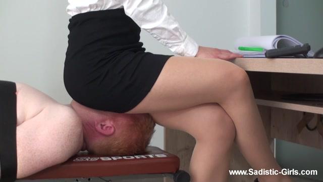 Sadistic Girls Pain Brutality - A Day as Secretarys Ass Slave - Volume II 00005