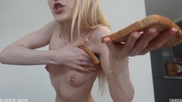 Sofie Skye - Futa Femdom Goddess Feeds you Dinner 00006