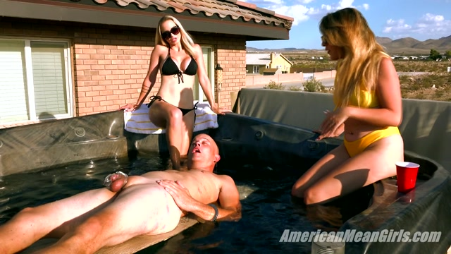 The Mean Girls - Princess Skylar  Goddess Platinum - Waterboarded by the Mean Girls 00009
