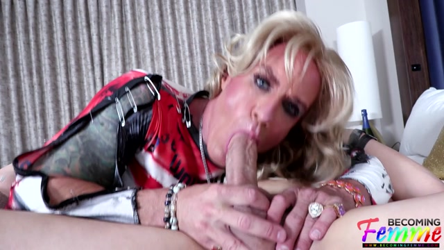 Becomingfemme presents Cherry Mature Crossdresser Obeys His Every Command - 22.10.2021 00012