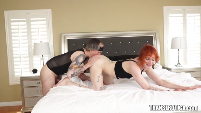 Evelyn Tumbles Cute Redhead Trans Dominated And Anal Fucked By Kai Bailey - 14.10.2021 00003