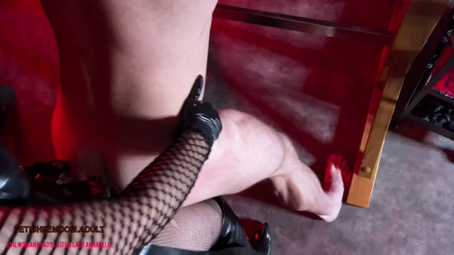 EvilWoman Strapon party with 3 Dommes and 2 slaves in the stocks 00003