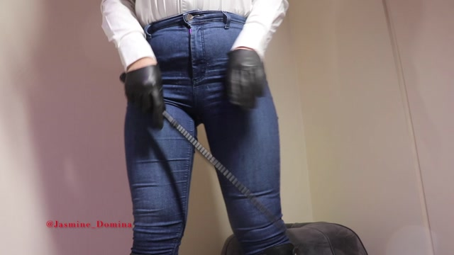 Jasmine Domina - Custom Clip - Beaten Boot Boy 00000