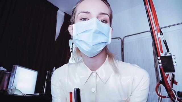 Mistress Euryale - Rejecting your semen specimen CEI 00005